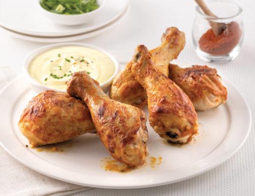 Pilons de poulet aux corn flakes