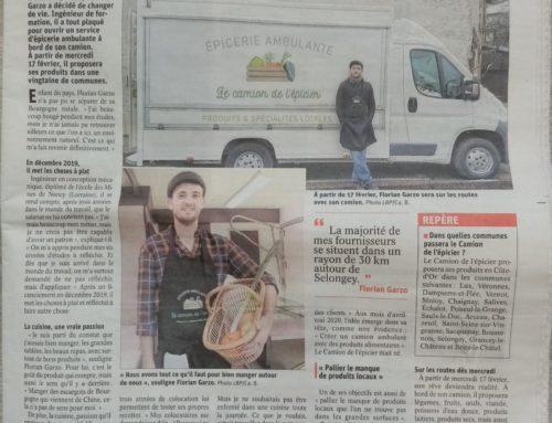 Un article sur le camion de l'épicier !