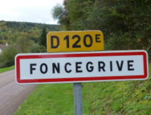 Bienvenue à Foncegrive !